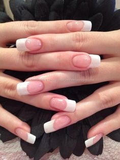 Glitter white acrylic overlays.  I just love the length and the shape!  Pretty.