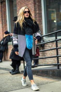 Streestyles von der New York Fashion Week im Januar 2015: Die besten Looks der New Yorker Modewoche jenseits der Laufstege hat die flair-Redaktion hier für sie zusammengestellt.