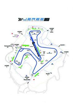 MotoGP y Superbikes 2013: Mapa del Circuito de Jerez