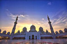 Sheikh Zayed Grand Mosque, Abu Dhabi, Emiratos Árabes Unidos