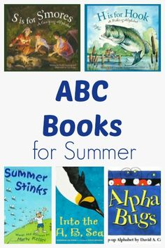 10 ABC Books to Read During the Summer