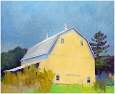 More barns yellow barns bing architecture barns art yellow buildings