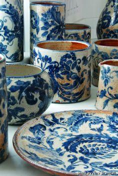 Amanda Moffat Pottery Porcelain Ceramics, Ceramic Art, Color Of The Year, Pantone Color, Interior And Exterior, Tabletop, Amanda, Plate, Pottery