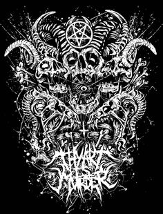 Thy Art is Murder Arte Horror, Horror Art, Death Metal, Metal Band Logos, Metal Bands, Tribal Tattoos Native American, Thy Art Is Murder, Rock Y Metal, Heavy Metal Art