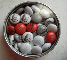 Truett Cathy M&Ms given away at the 2012 Chick-fil-A Seminar.