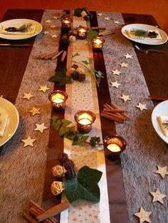 Tischdekoration Weihnachten 6