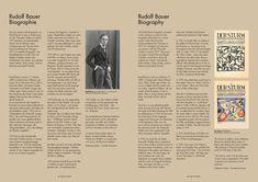 """Ausstellungskatalog """"Rudolf Bauer"""" Originale Werke, Lithografien und Briefe. Original works, lithographs and letters. Rebay-Haus Teningen"""