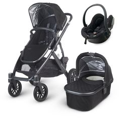 This UPPAbaby Vista 2015 (Jake - black) package comes complete with a BeSafe iZi Go car seat: everything you need to get fully mobile with your baby! | £779 from www.moosterbaby.co.uk | #travelsystem #baby