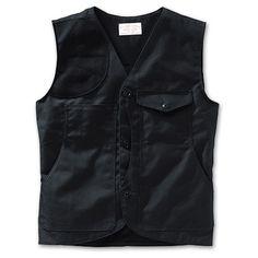 www.Filson.com | Scout Vest - Dry Tin