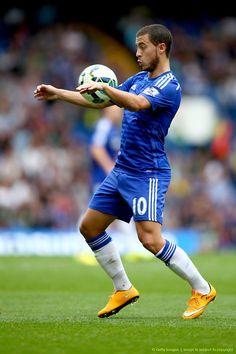 Eden Hazard del Chelsea, sabe con el balón: Premier League.