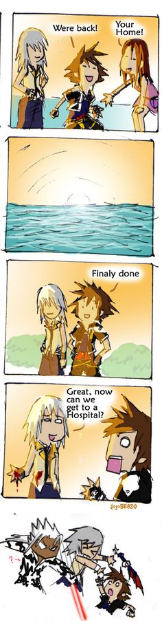 KH 2 spoof: Ouch by jojo56830.deviantart.com on @deviantART