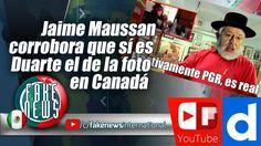Jaime Maussan corrobora que sí es Duarte el de la foto en Canadá