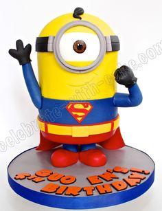 superman minion cake - Google Search