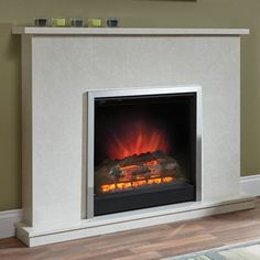 Be Modern Melissa Electric Fireplace Suite