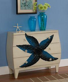 Another great find on #zulily! Starfish Three-Drawer Chest by Coast to Coast #zulilyfinds