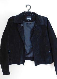 Kup mój przedmiot na #vintedpl http://www.vinted.pl/damska-odziez/kurtki/14080541-keenan-czarna-kurtka-skora-zamsz-42