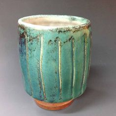 Yunomi / Tumber Salt Fired Stoneware with by RonPhilbeckPottery, $35.00