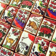 花札クッキー。ものすごいクオリティー。◆かわいすぎて食べられない「お正月クッキー」が話題【画像】