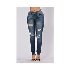 Jeans ❤ liked on Polyvore featuring jeans