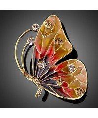 Francesca Petrucci Brož Swarovski Elements Dona - motýl