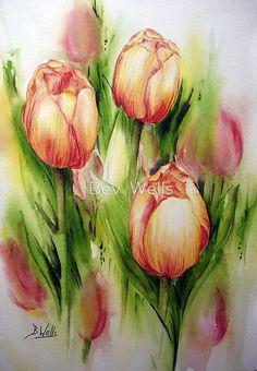 Tulips Gorgeous-practice,practice