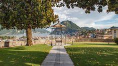 Heiraten im Garten der Villa Sassa. Mit einem wunderschönen Ausblick über Lugano und den Lago di Lugano. Es gibt nichts schöneres.