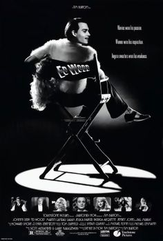 Ed Wood is a 1994 American period comedy-drama biopic directed and produced by Tim Burton, and starring Johnny Depp as cult filmmaker Ed Wood. The film concerns the period in Wood's life when he made his best-known films as well as his relationship with actor Bela Lugosi, played by Martin Landau. Sarah Jessica Parker, Patricia Arquette, Jeffrey Jones, Lisa Marie, and Bill Murray are among the supporting cast.