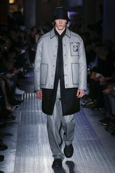 See the complete Prada Fall 2018 Menswear collection.