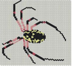 Beadwork, but could be used for cross stitch. Site has some great free patterns.