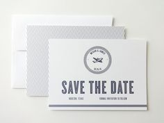 Vintage Airplane Wedding Save the Dates / by avisualconcept, $35.00