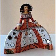 meninas de ceramica