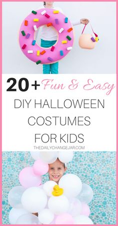 You don't have to sew to knock out creative Halloween costume this year! Grab your glue gun and get to work on these no-sew Halloween costumes for kids. Easy Homemade Halloween Costumes, Easy Diy Costumes, Creative Halloween Costumes, Halloween Kids, Costume Ideas, Toddler Costumes, Easy Diys For Kids, Kids Diy, Making Ideas
