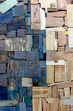 Your daily dose of Inspiration: Creative Inspiration: Process & Materials Art Sculpture, Wall Sculptures, Inspiration Art, Creative Inspiration, Wooden Art, Wood Wall Art, Wood Mosaic, Assemblage Art, Wood Design