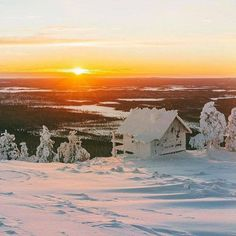 Winter in the Finnish Lapland is something special!.. - 2015-12-17 12:11 2BBBC