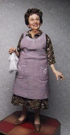 A repin of Edith Bunker as a doll (originally pinned from Facebook)