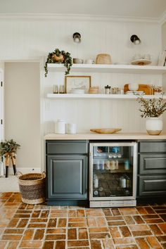 How to Build a DIY Dry Bar - House On Longwood Lane