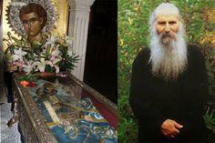 Ο Γέροντας Ιάκωβος τακτικά επισκεπτόταν τον Άγιο Ιωάννη το Ρώσο κυρίως πηγαίνοντας για την Αθήνα για τους γιατρούς που τον παρακολουθούσαν: «Κάποτε,έλεγε, πήγα και βλέπω τον Άγιο ζωντανό μέσα στη λάρνακά του. Του λέω:
