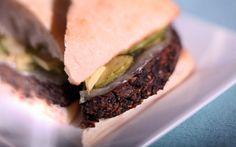 North Peak's veggie burger