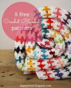 Crochet blankets: 5 free patterns