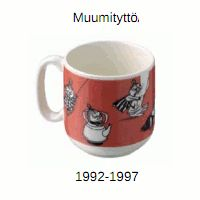Arabian muumeja on valmistettu 1950-luvulta saakka lasten astiastojen osana. Varsinaisen suuren suosioonsa Muumimukit saavuttivat 1990-luvu...