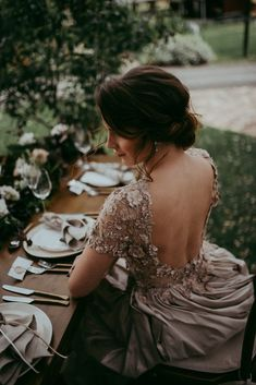 Nude dress with flower detail Nude Dress, Bride Gowns, My Hair, Wedding Styles, Hair Makeup, Pretty, Flowers, Brides, How To Wear