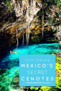 Swimming in Mexico's cenotes is a bucket list item you NEED to check off. Read about how I did it!