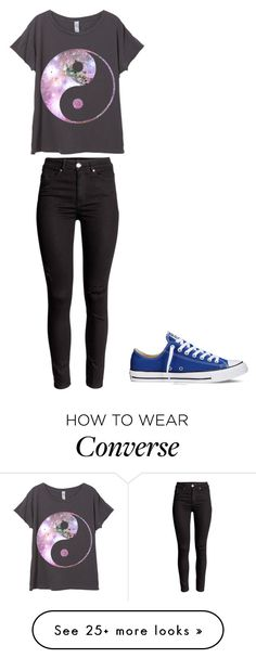 """""""#mystyle"""" by katrinamodel2000 on Polyvore featuring Converse, women's clothing, women, female, woman, misses and juniors"""