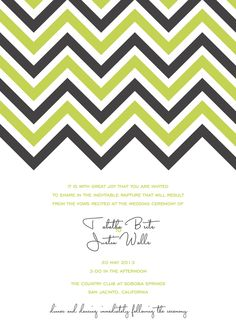 Free invitations from weddingchicks.com! SO cool! I'll be using this for parties, not just wedding invites!