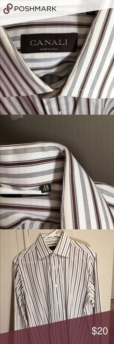 Canali Long sleeve shirt Used Condition Canali Shirts Dress Shirts