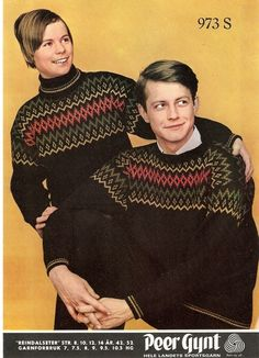 Reindalseter 0973 S. Sandnes uldvarefabrik A/S. Norwegian Knitting, Knitting Patterns, Knitting Ideas, Old Magazines, Color Combinations, Ravelry, Christmas Sweaters, Men Sweater, How To Wear