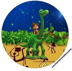 Kit Imprimible GRATIS Un Gran Dinosaurio