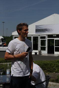 Fritz Dopfer, Ski-Ass;  Spezialist für Riesenslalom und Slalom / ADAC Fahrsicherheitszentrum Grevenbroich