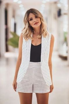 Classy Outfits, Chic Outfits, Trendy Outfits, Summer Outfits, Mode Outfits, Short Outfits, Casual Chic, Casual Wear, Mode Kimono