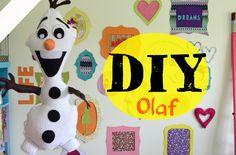 DIY Almofada Olaf - Frozen